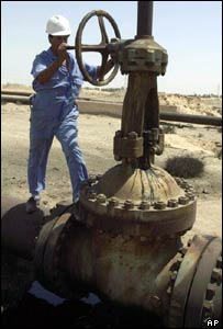 Oil worker image